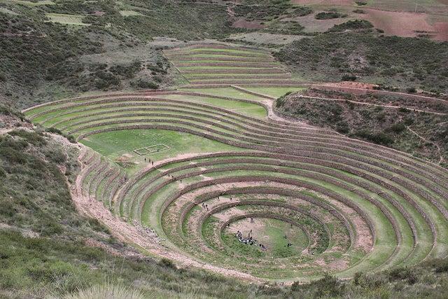 Moray en Perú