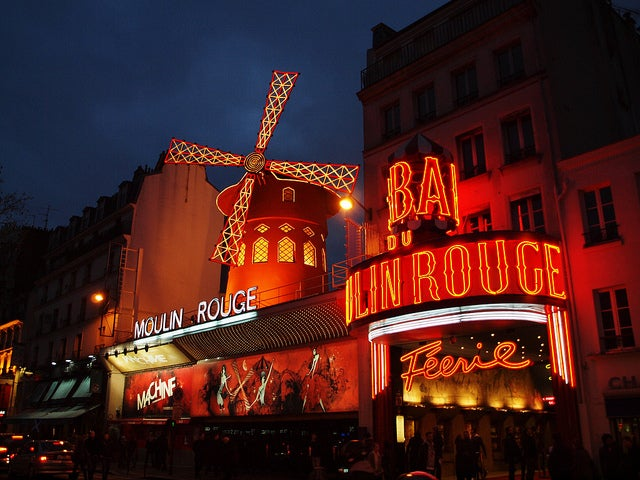 Moulin Rouge de noche