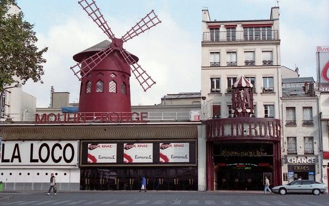El Moulin Rouge, un gran espectáculo parisino