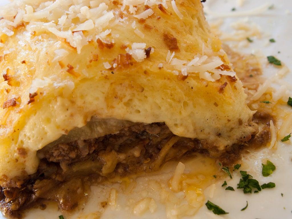 Musaca, uno de los mejores platos griegos