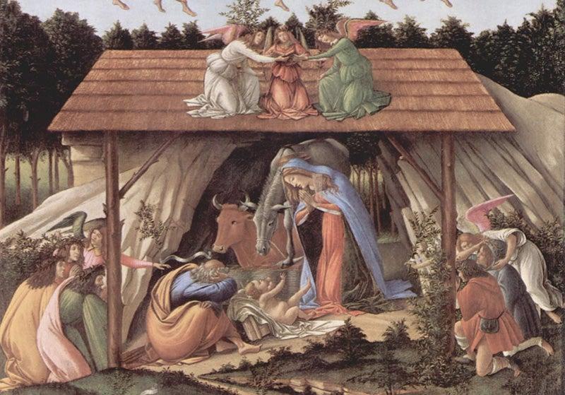 NAtividad mistica de Botticelli
