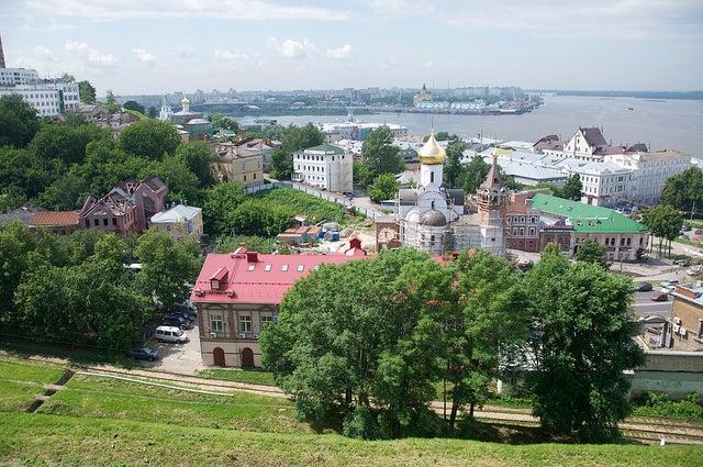 Novgorod en Rusia