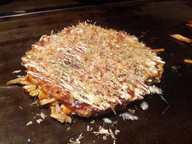 Okonomiyaky de Japón