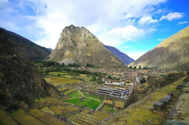 Ollantaybambo en el Valle Sagrado de los Incas