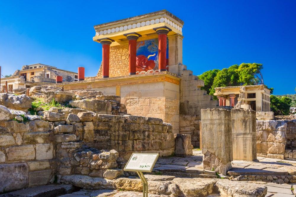 Palacio de Knossos en Creta