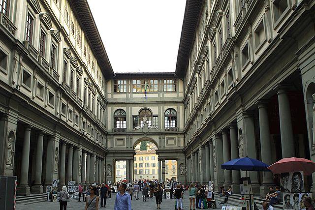 Palacio Ufizzi en Florencia
