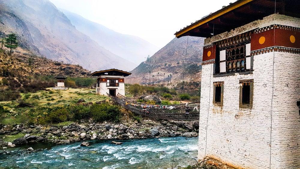 Paro en Bután