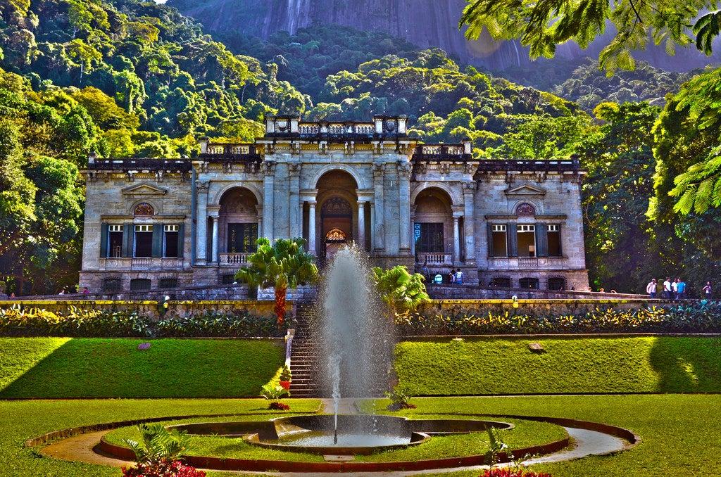 Parque Lage, uno de los lugares que ver en Río de Janeiro