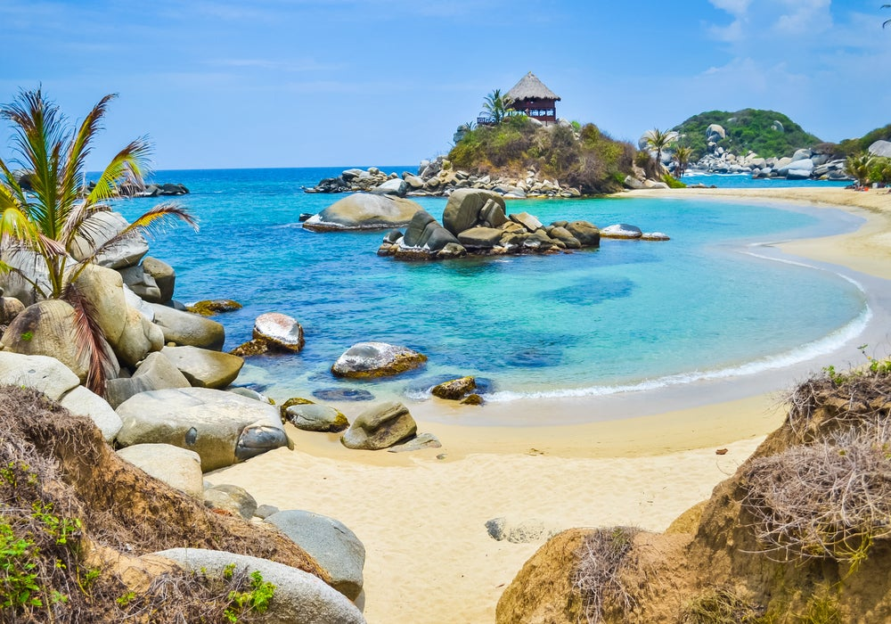 Parque Natural Tayrona en Colombia
