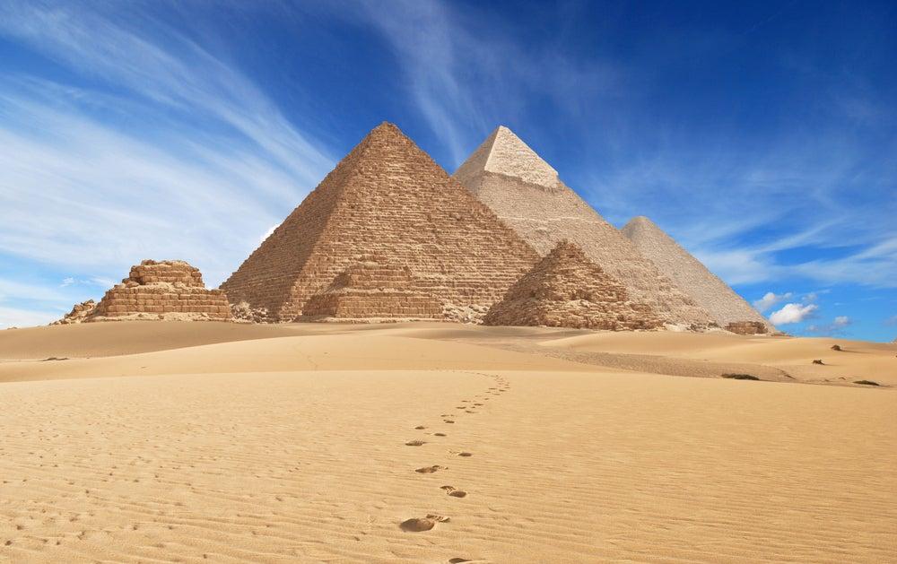 Pirámides de Egipto en la Meseta de Guiza