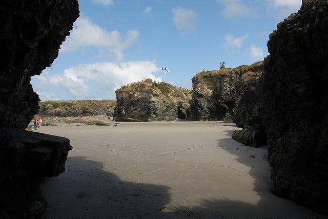 Playa de Os Castros en Lugo