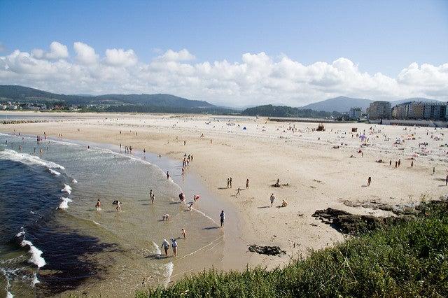 Playa Rapadoira en Lugo