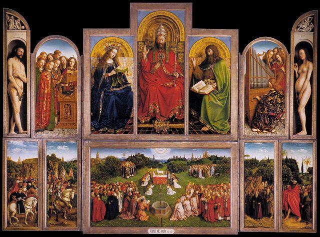 Polítptico de Gante de Van Eyck