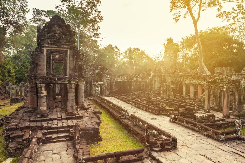 Preah Khan Wat en Angkor