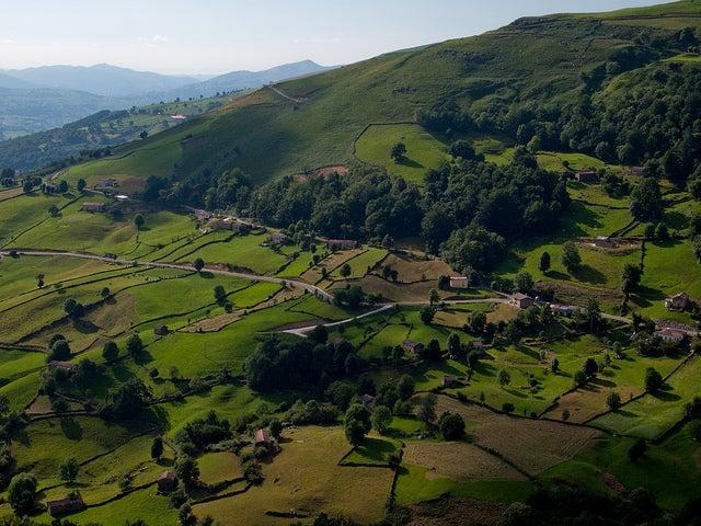 El puerto de la Braguía en Cantabria y sus fabulosas vistas