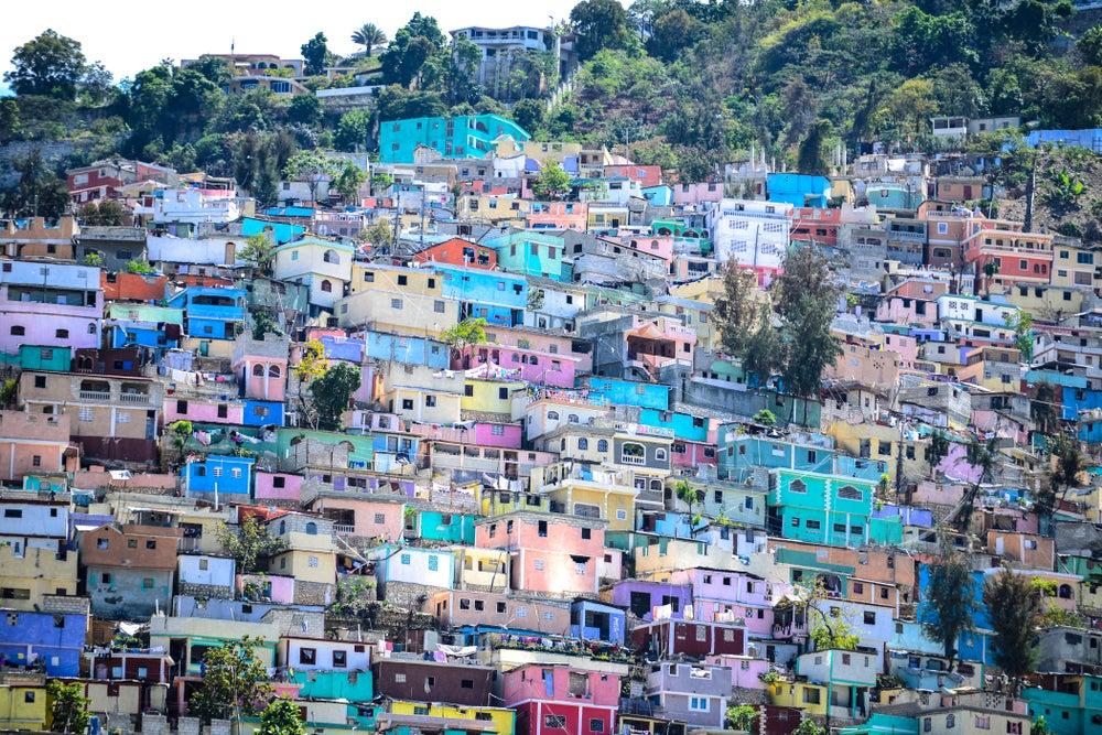 Casas en Puerto Príncipe en Haití