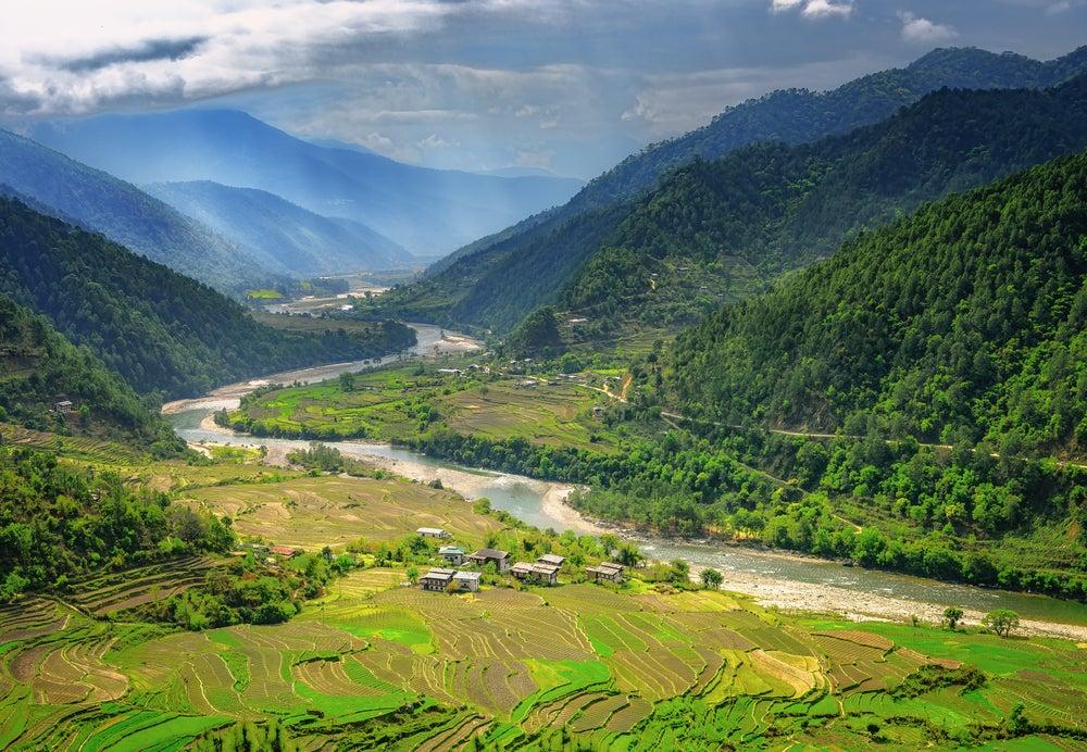 Punakha en Bután