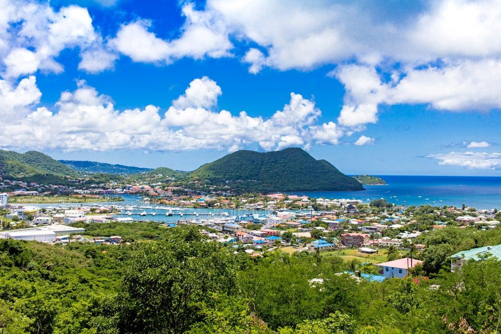 Rodney Bay en Santa Lucía