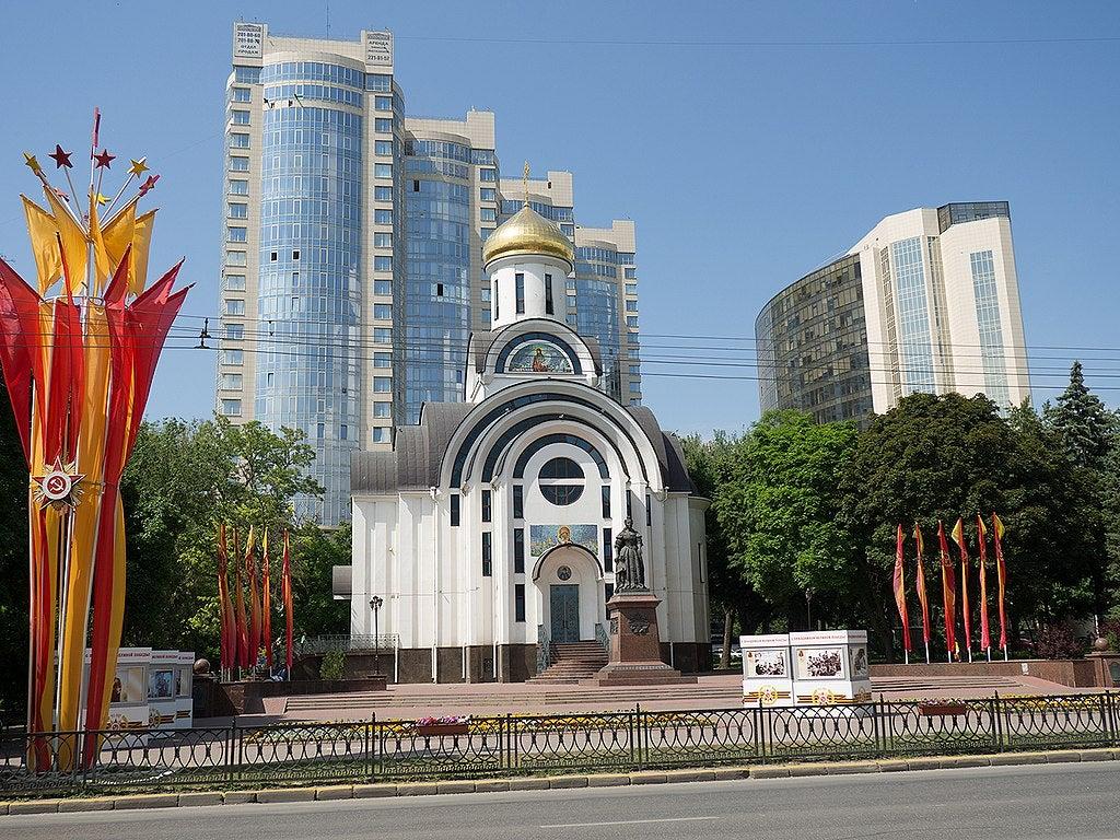 Rostov del Don en Rusia