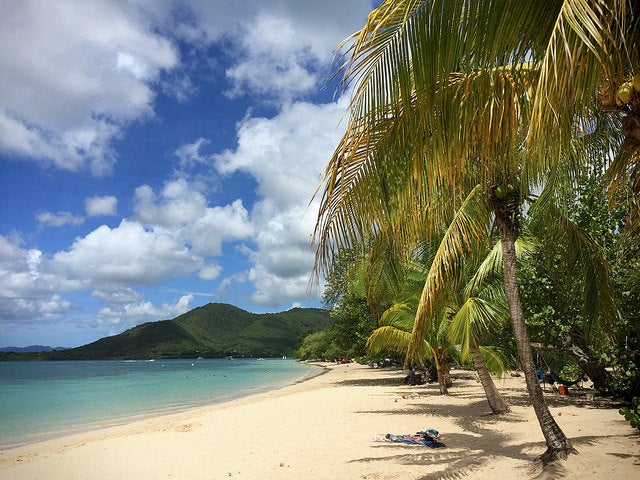 Sainte-Anne en la isla de Martinica