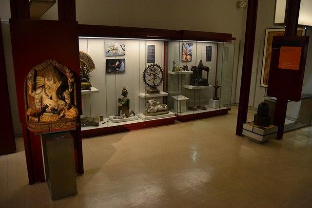 Sala Asia en el Museo Nacional de Antropología