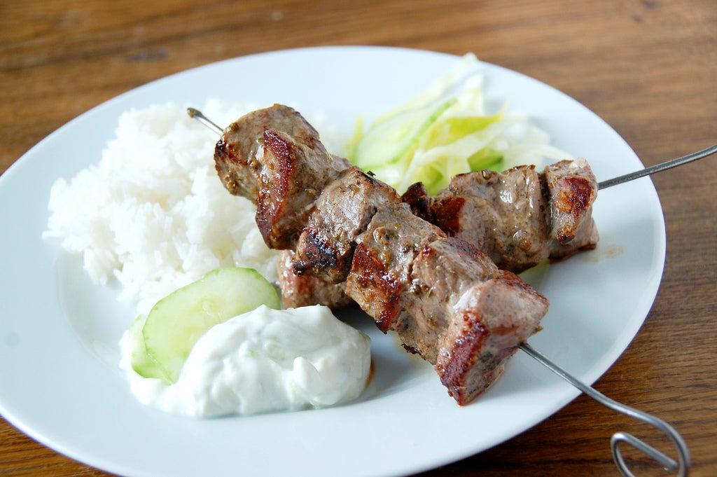 Souvlaki, uno de los mejores platos griegos