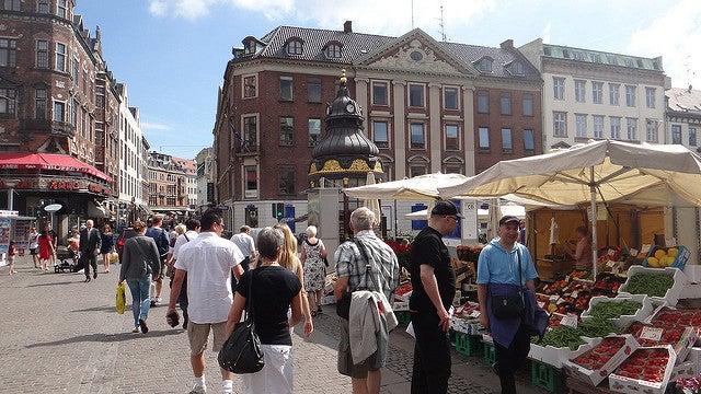 Stroget en Copenhague