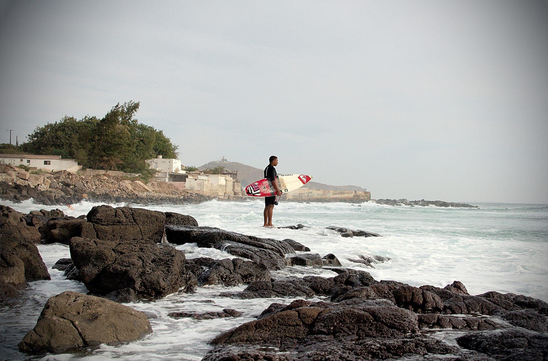 Surf en Senegal