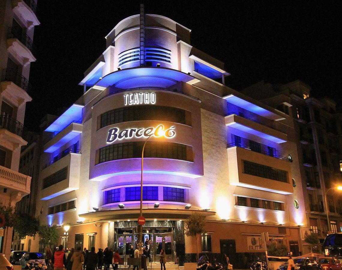 Teatro Barceló una de las discotecas de Madrid