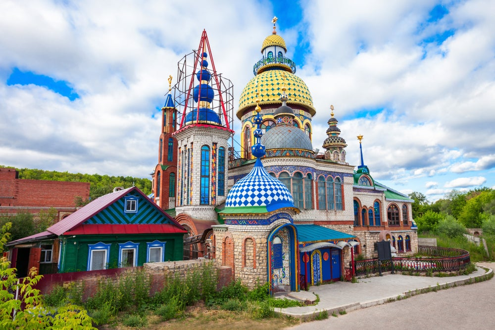 Templo de todas las Religiones, imprescindible al visitar Kazán