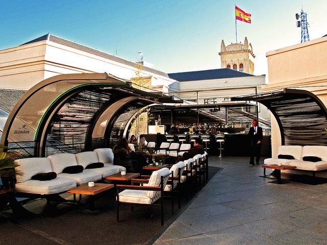 Terraza de Cibeles en Madrid
