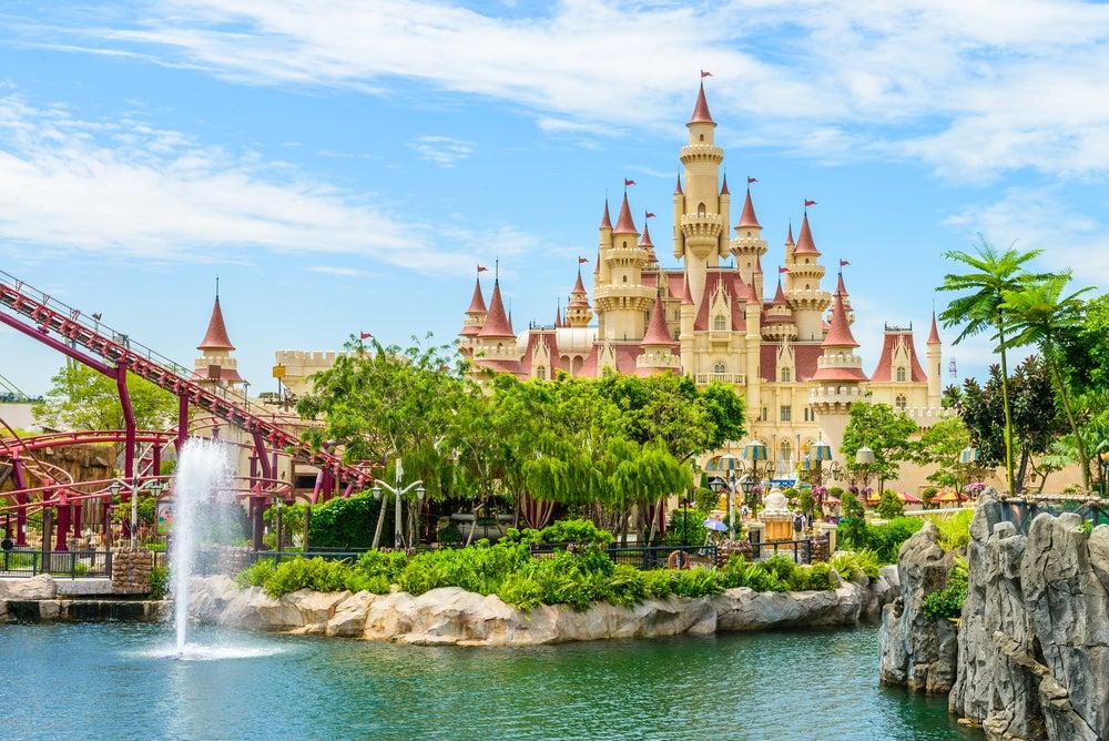 Universal Studios en isla Sentosa