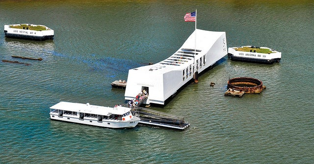 USS Arizona Memorial en Hawai