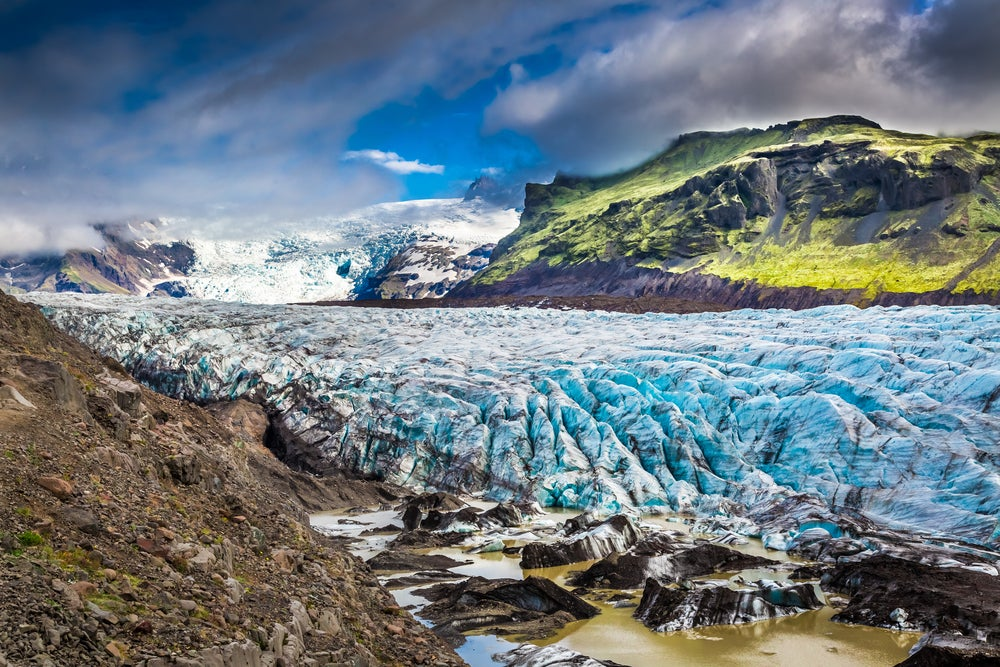 Disfruta de hermosos glaciares en Islandia occidental