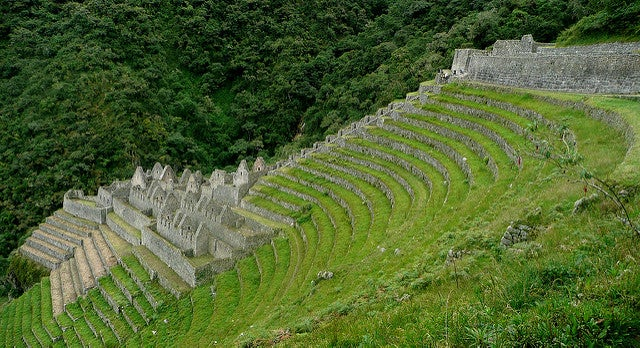 Waina Wiñay ruina inca en Perú