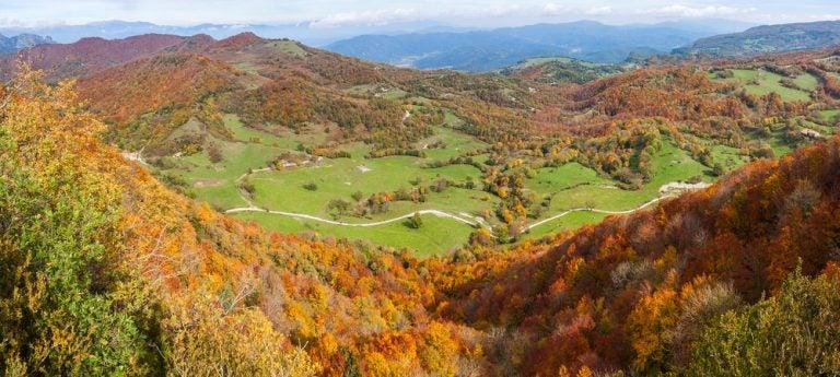 La Zona Volcánica de la Garrotxa, un paisaje único en Girona