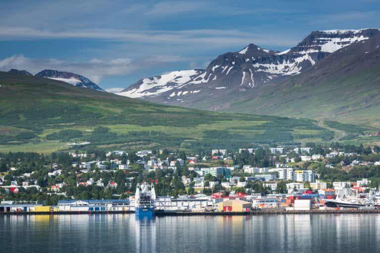 Akureyri, la pequeñísima cuarta ciudad de Islandia