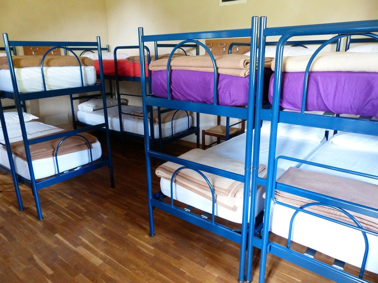 Habitación de un albergue
