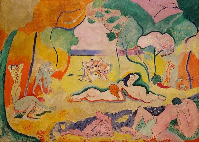 """""""La alegría de vivir"""" de Henry Matisse"""