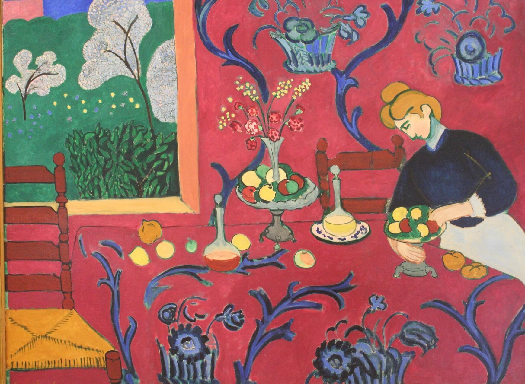 """""""Armonía en Rojo"""" de Henry Matisse"""