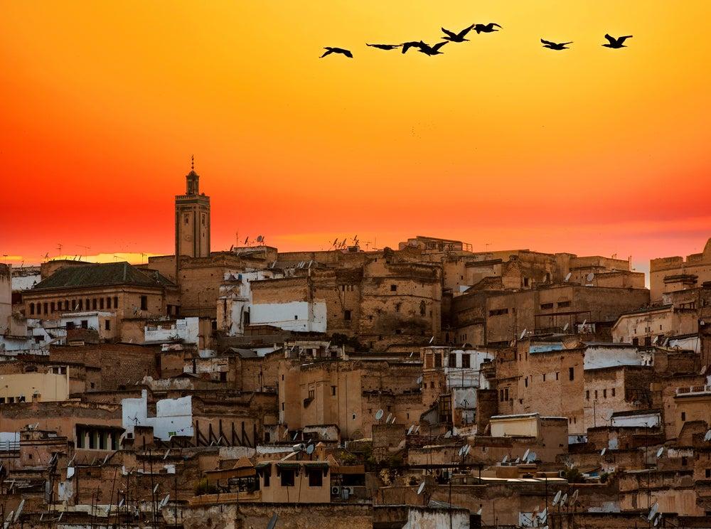 Atardecer en Fez