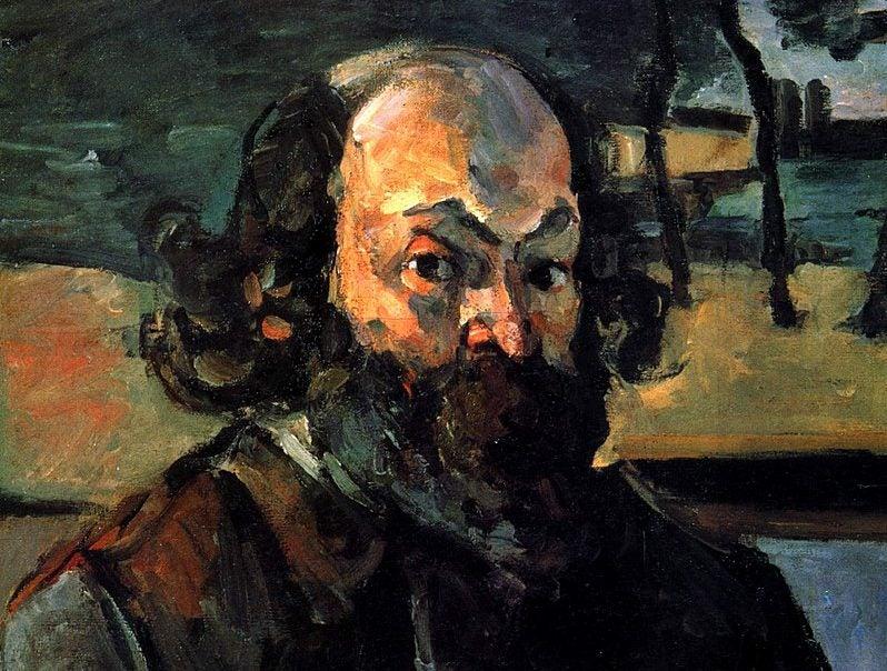 Paul Cézanne, el «padre» de la pintura moderna