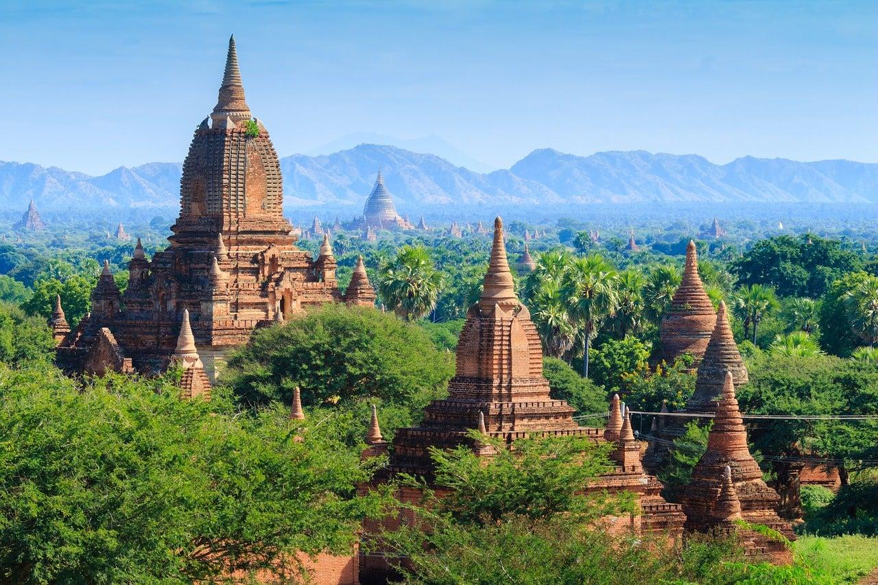 Visitar Bagan y sus más de 4000 templos budistas