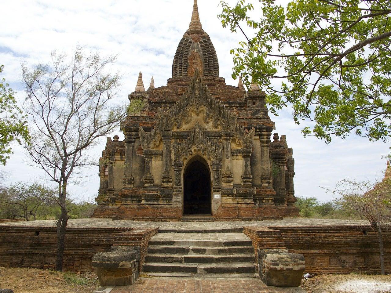 Templo budista en Bagan