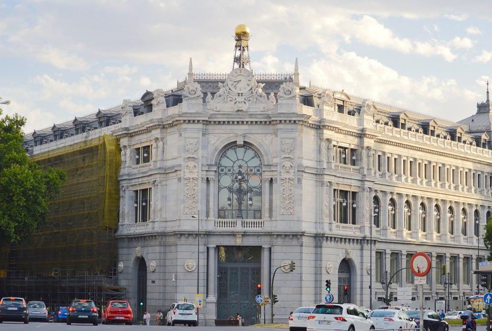 Banco de España en la plaza de Cibeles
