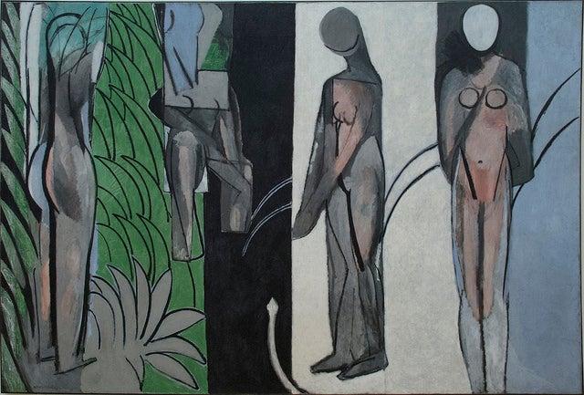 Bañistas junto al río de Henry Matisse