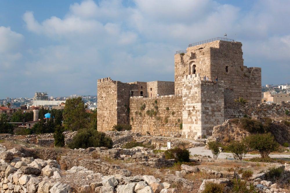 Biblos en el Líbano