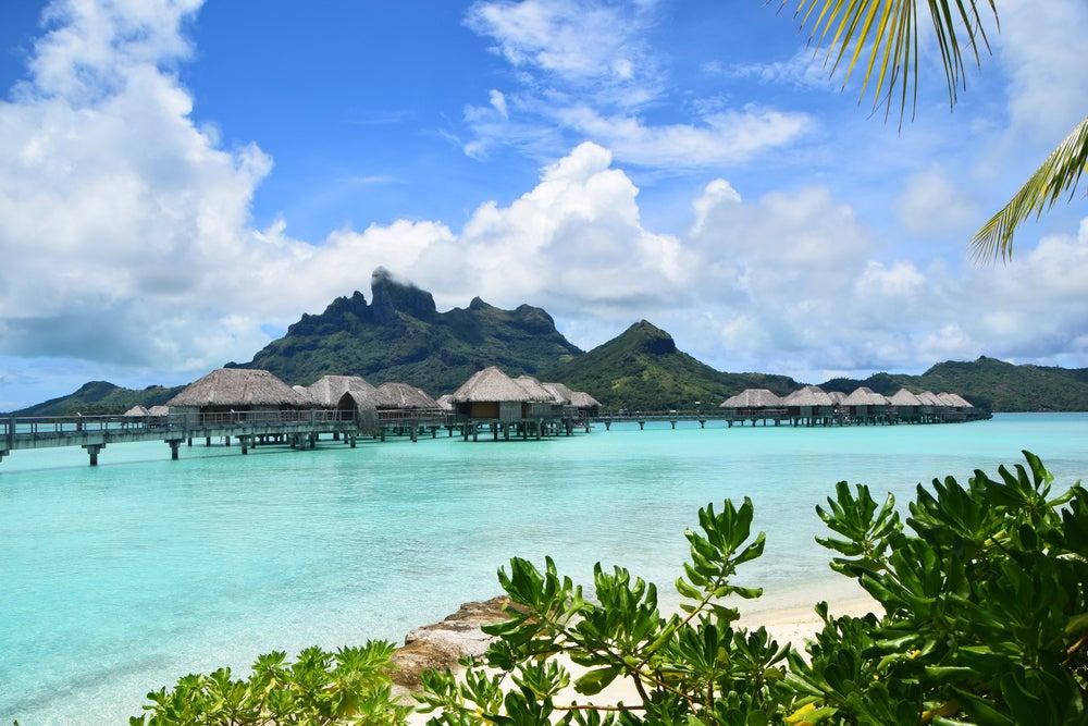 Laguna en Bora Bora