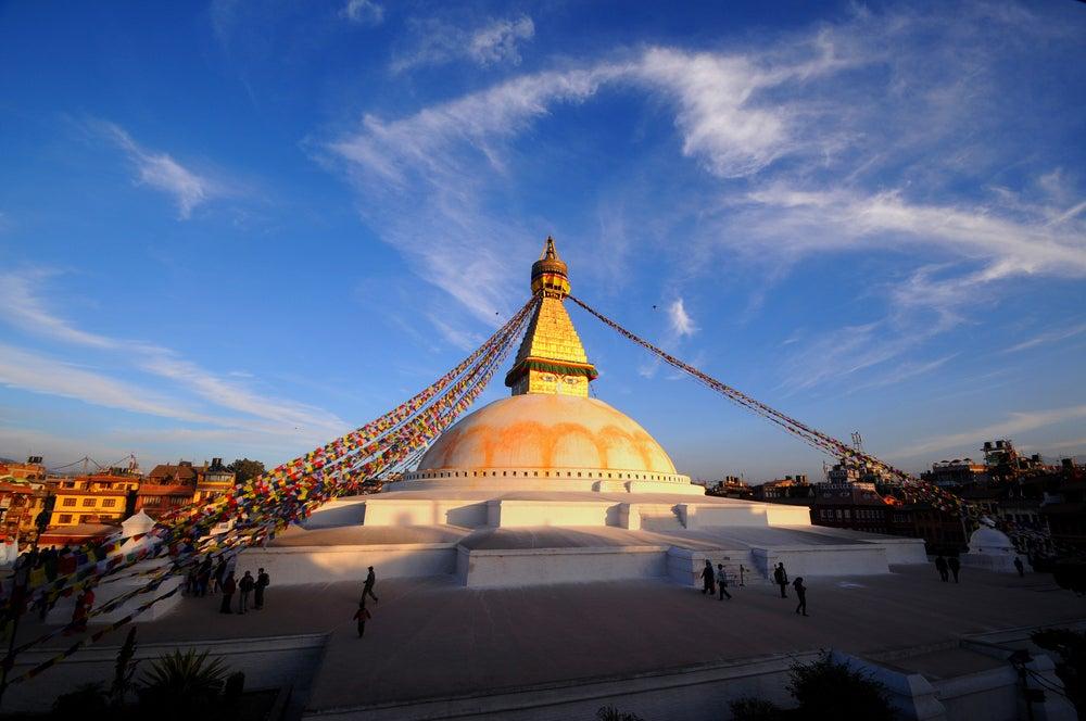 Templo Boudhanath en Katmandú