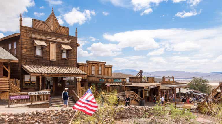 Viajamos a Calico, el pueblo fantasma propio de un 'western'